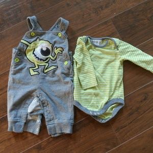 Disney Baby Monsters Inc. Two Piece Set